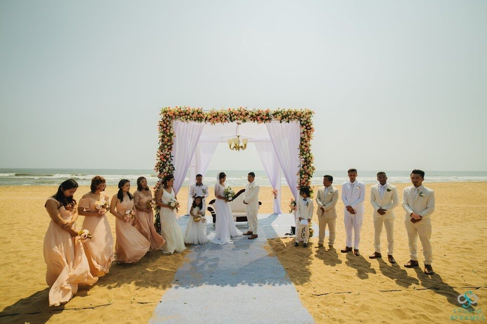 Beach Wedding in SBR