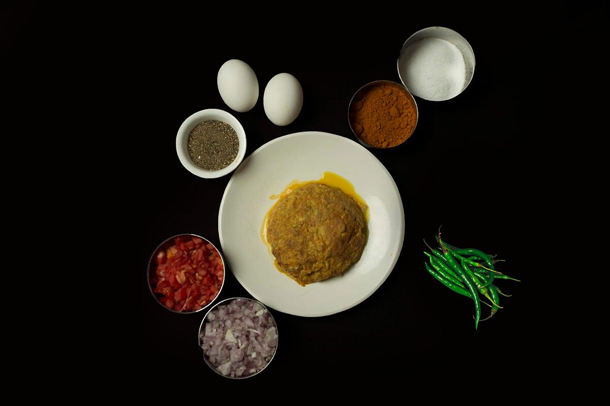 Karandi omlette