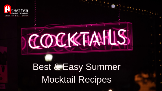 Best & Easy Summer Mocktail Recipes