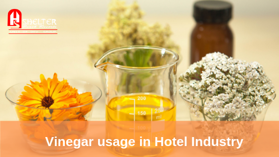Vinegar usage in Hotel Industry