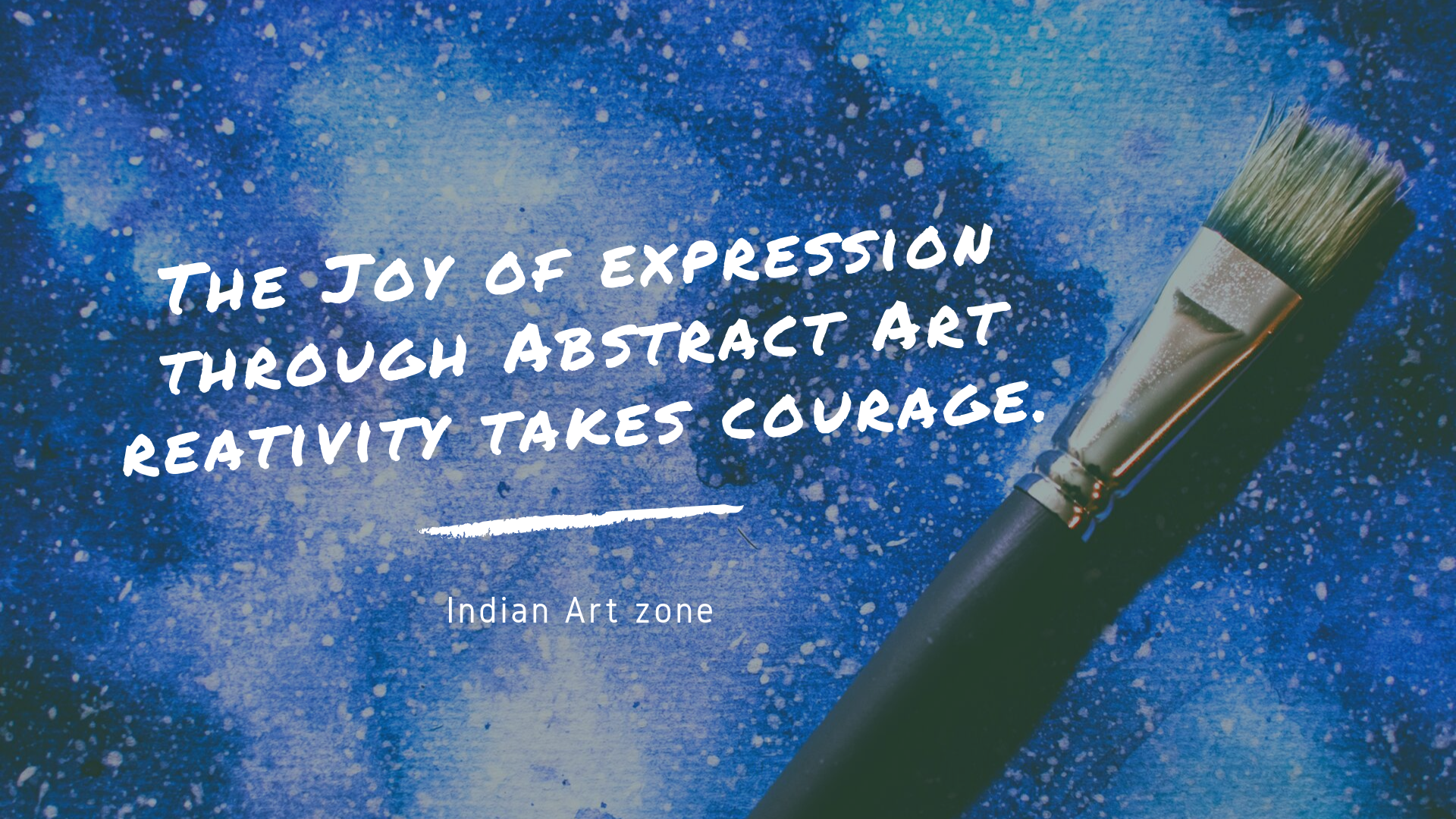 The Joy of expression through Abstract Art