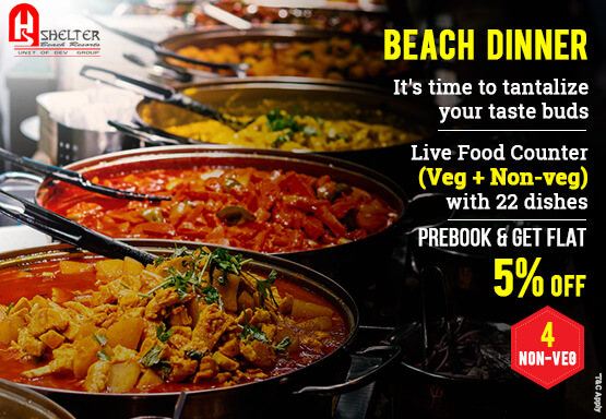 Weekend Special Buffet by the Beach